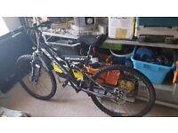 Boss stealth mountain bike 21 gears