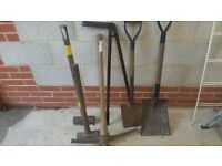 Garden and building tools