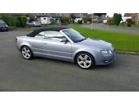 Audi A4 convertible S-line with FSH stamped book