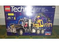 Vintage Lego TECHNIC 8868 Air Tech Claw Rig, excellent condition, *unused* stickers