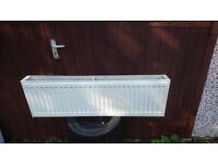 Triple, double & single panel compact radiators, complete, various sizes & price