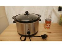 Stainless Steel 3L Slow Cooker (ASDA)