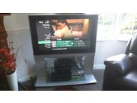 Panasonic 42 inch Panasonic television with inegral stand