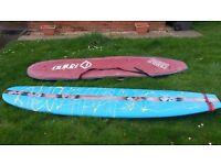 surfboard 9` Longboard (mini mal) malibu