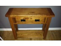 Toulouse Console Table Solid Oak.....