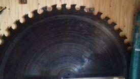 large saw blade