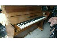 Challen upright Piano circa 1940's with stool