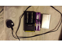 Used smok Xcube II (with 4 batteries + charging pack) Vape