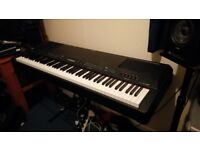 Yamaha CP300 stage piano and Flight case