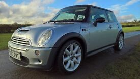 MINI COOPER S STUNNING LOW MILES, HISTORY, SATNAV, HEATED FULL LEATHER, PANORAMIC SUNROOFS, SILVER
