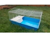 Rabbit hutch & run or cage