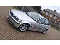 2003 (52) BMW 3 SERIES E46 318i 2.0L PETROL AUTOMATIC 4DR SALOON MOT OCT 17 HPI CLEAR SUPERB DRIVE
