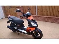 Peugeot Speedfight 3 125cc Darkside. Only 242 miles (66 reg)