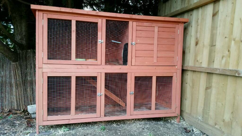 Guinea-pig/ rabbit hutch