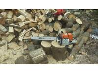 "Stihl 650 chainsaw 25"" + 36""bar"