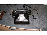 BAKELITE PHONE 1950,S