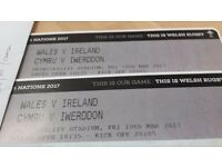 Wales v Ireland rugby ticket