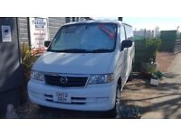 Mazda Bongo Friendee, Low Mileage, Silver Reflective Screens, Mains Kit
