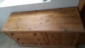 3 drawer sideboard.
