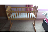 Mamas and Papas Swinging Baby Crib Bed
