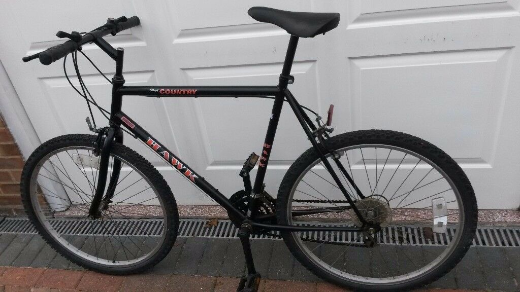 "Black Country HAWK 15 speed Oversized Frame Mountain Bike with 26"" Wheels"