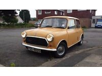 mini austin 1978 11 mot very good body under neath and uper very good drive avery thing works