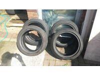 4 tyres 195/45/15