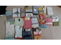 Bundle of Brand-new Tea-Towels , aprons and Oven gloves(John Lewis, Marks & Spencer etc)