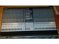 Allen and Heath GL2400 32 Channel Mixer with Pro Pack Horse Flight case