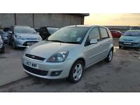 2007 Ford Fiesta zetec 1.6 tdci 5 door hatchback 12 months mot genuine low mileage