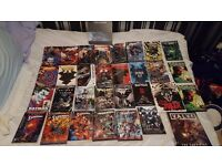 Assorted beginner DC Comic Graphic Novels