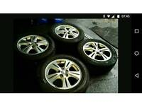Ford Galaxy Zetec alloy wheels and tyres