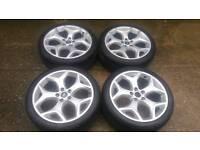 Genuine 19 inch ford st alloy wheels pcd 5x108