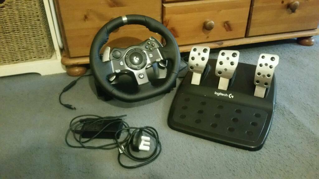 Logitech G920 Driving Force Racing Wheel For Xbox One And Pc In