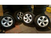 Bmw alloy wheels and tyres