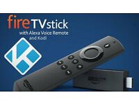 AMAZON fire stick with alexa remote LATEST with kodi krypton new out