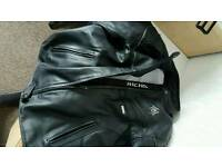 Richa ladies leather motorbike jacket