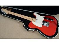 Fender American Standard Telecaster Chrome Red