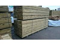 5x2 Sawn Pressure Treated/Tanalised Timber 3.6mt / 12f Deck Joist /Fencing