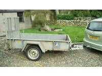 Ifor Williams GD84 trailer 1.5 ton