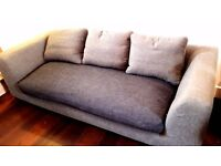 Habitat Grey Sofa 2 Seater 3 Seater Hackney Bethnal Green East London