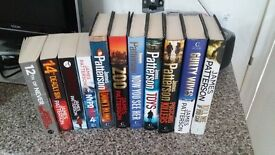 James Patterson Thrillers