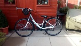 Ladies Y Framed bike