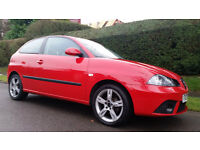 SEAT IBIZA 1.4 16v Special Edition 3dr DAB (red) 2007