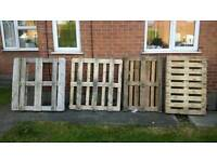 FREE PALLETS AND CRATE FOR BONFIRE ETC