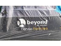 Beyond by gelert corvus five plus two tent, plus camping equipment