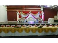 Wedding & Mehndi Stages from £250 & House lighting for Hire