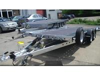 WOODFORD WBT131 2600KG CAR TRANSPORTER TRAILER - 16FT X 6FT 6""