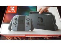 BNIB unopened grey Nintendo Switch