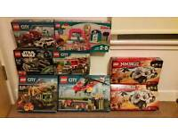 Various Lego Sets - Star Wars, Ninjago, City